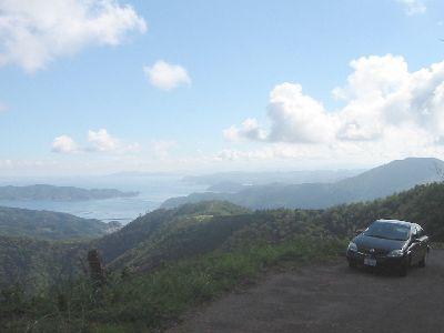 陣ヶ峰への道
