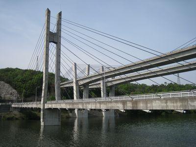 衝原橋と衝原大橋