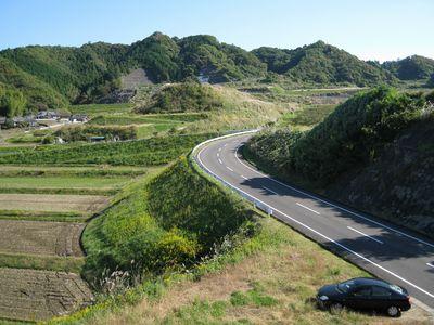 グリーンふるさとライン・県北東部広域農道