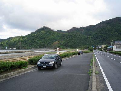 島根県道29号大社日御碕線・稲佐の浜