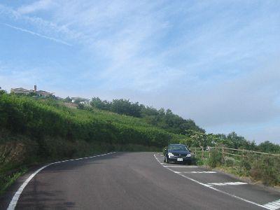 大串岬の道